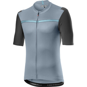 Castelli Unlimited Jersey Korte Mouwen Heren, vortex gray